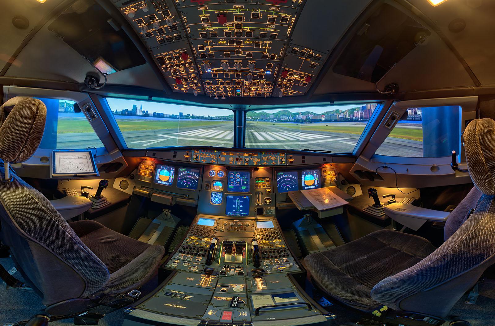 Homecockpit A320 (Sachsen) | Flugsimulator-Vergleich