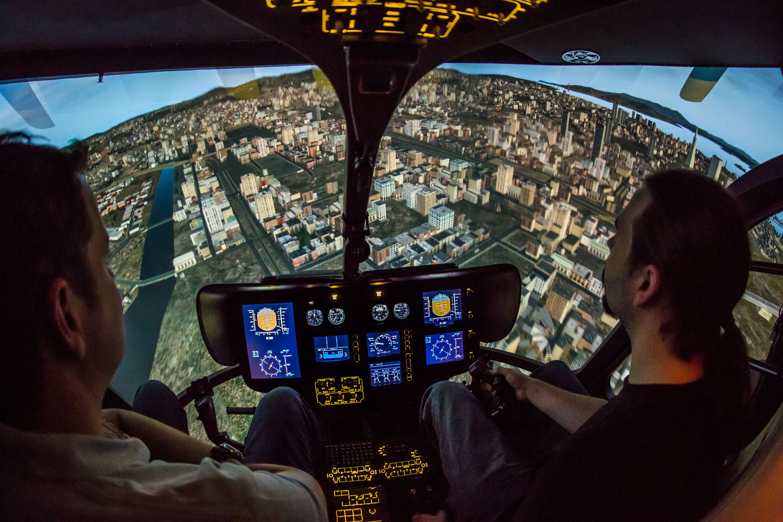 hubschrauber flugsimulator