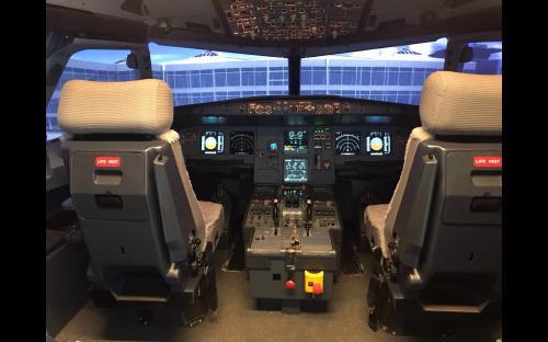 A320 Full Flight Simulator mit Motion in Berlin