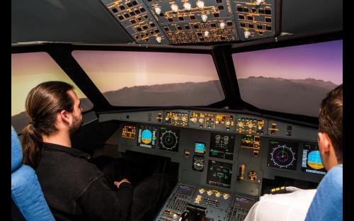 A320 Flugsimulator Düsseldorf
