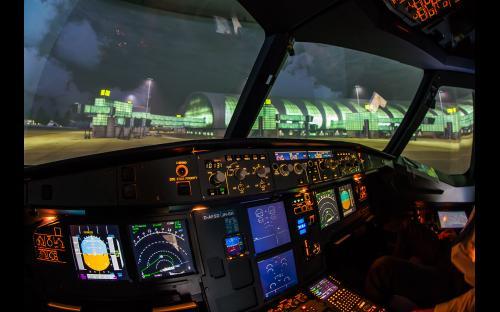 Flugsimulator Dresden