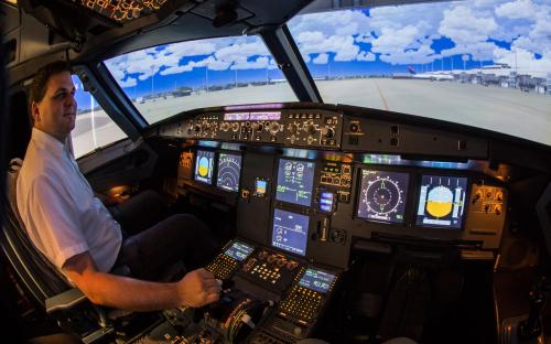 A320 Flugsimulator Bremen Flughafen