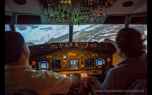 B737-Flugsimulator Frankfurt