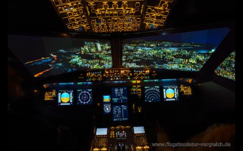 A320 Flugsimulator - Frankfurt Flughafen
