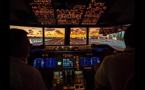 B747 Flugsimulator München