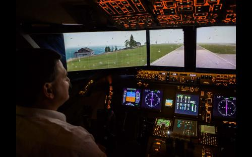 Boeing 747 Flugsimulator München