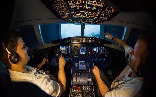 Dornier 328 Flugsimulator