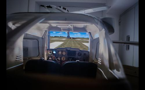 Flugsimulator Cessna 150